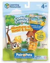Детски комплект за игра Learning Resources - Хънтър и Скоут -1