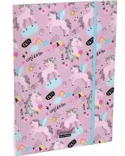 Папка с ластик Lizzy Card A4 - Uni Cool Magic, Lollipop -1
