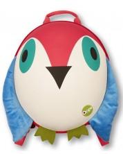 Детска кръгла раница Oops - Птиче -1