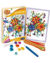 Творчески комплект Sentosphere - Цветя, квилинг картини -1