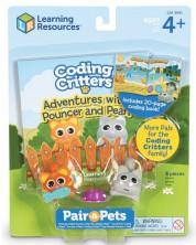 Детски комплект за игра Learning Resources - Паунсър и Пърл -1