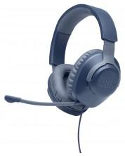 Гейминг слушалки JBL - Quantum 100, сини