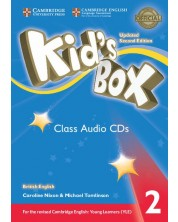 Kid's Box Updated 2ed. 2 Audio CD (4)