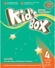 Kid's Box Updated 2ed. 4 Activity Book w Onl.Resources