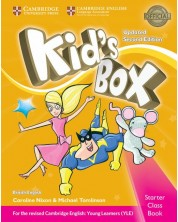 Kid's Box Updated 2ed. Starter Class Book w CD-ROM