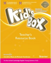 Kid's Box Updated 2ed. Starter Teacher's Resource Book w Online Audio