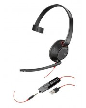 Слушалка Plantronics Blackwire - C5210, черна