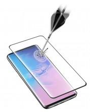 Закалено 3D стъкло Cellularline - за Samsung Galaxy S20 Ultra, черно