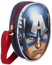 Детска чантичка Cerda – 3D Captain America -1