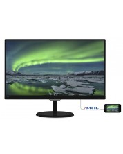 "Philips 23"" IPS монитор с Flickr Free, 1920x1080 5ms, 250cd/m2 VGA, DVI, HDMI -1"