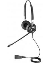 Слушалка Jabra BIZ - 2400 II QD, черна