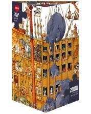 Пъзел Heye от 2000 части - Ноевият ковчег, Жан-Жак Луп -1