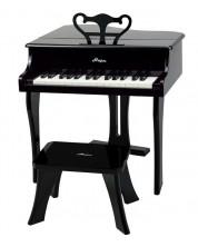 Детски музикален инструмент Hape - Пиано, черно -1