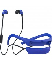 Спортни слушалки Skullcandy - Smokin Buds 2, street/royal blue/dark blue