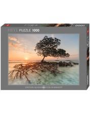 Пъзел Heye от 1000 части - Червено мангрово дърво, Александър фон Хумболт