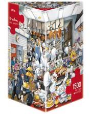 Пъзел Heye от 1500 части - Bon apetit!, Роже Блашон -1