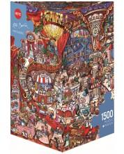 Пъзел Heye от 1500 части - Сладкарница, Рита Берман -1