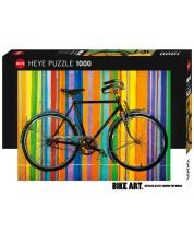 Пъзел Heye от 1000 части - Отново свободни, Bike Art