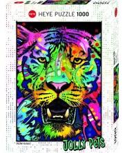Пъзел Heye от 1000 части - Див тигър, Дийн Русо -1