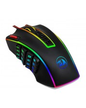Гейминг мишка Redragon -  Legend M990RGB-BK, черна
