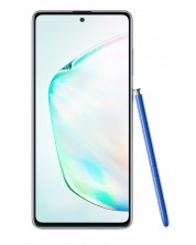 "Смартфон Samsung Galaxy Note 10 Lite - 6.7"", 128GB, aura glow"