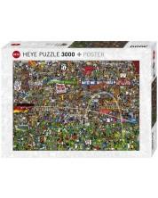 Пъзел Heye от 3000 части - История на футбола, Алекс Бенет -1