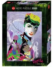 Пъзел Heye от 2000 части - Одри 2, Джони Циехъ