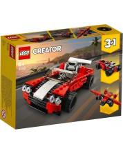 Конструктор 3 в 1 Lego Creator - Спортен автомобил (31100)
