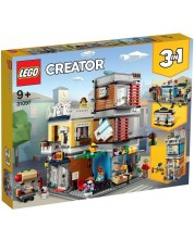 Конструктор 3 в 1 Lego Creator - Townhouse Pet Shop & Café (31097)