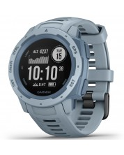 GPS часовник Garmin - Instinct, sea foam -1