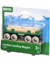 ЖП аксесоар Brio - Вагон за дървен материал