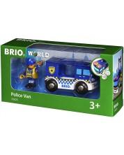 Играчка Brio World - Полицейски ван