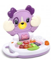 Интерактивна музикална играчка LeapFrog - Вайълет, лилава -1