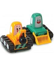 Комплект мини колички Vtech Go! Go! Cory Carson - Кими и Тими -1