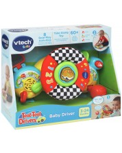 Музикална играчка Vtech Toot-Toot Drivers - Шарен волан -1