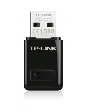 Безжичен USB адаптер TP-Link - TL-WN823N, черен