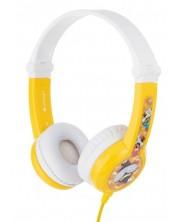 Детски слушалки BuddyPhones - CONNECT, жълти