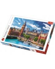 Пъзел Trefl от 500 части - Слънчев ден в Лондон -1