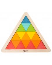 Дървена мозайка Classic World - Триъгълник -1