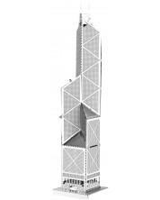 3D метален пъзел Tronico - Кулата на банка в Китай, Хонг Конг