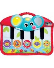 Музикална играчка Playgro 4 в 1 - Пиано, за ръце или крачета