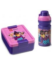 Комплект бутилка и кутия за храна Lego Friends Lunch - Girls Rock