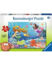 Пъзел Ravensburger от 60 части - Приказка за русалки 09638 -1