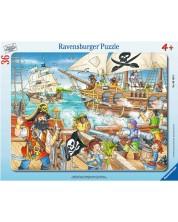 Пъзел Ravensburger от 36 части - Битка в открито море 06165 -1