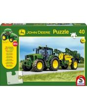 Пъзел Schmidt от 40 части - John Deere 6630