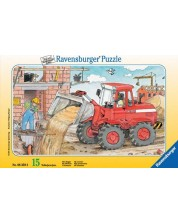 Пъзел Ravensburger от 15 части - Багер