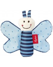 Бебешка играчка Sigikid Grasp Toy - Синя пеперуда, 9 cm -1