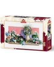 Пъзел Art Puzzle от 500 части - Пролетни цветя, Ерик Ъруин -1