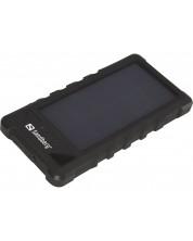 Портативна батерия Sandberg - Outdoor Solar Powerbank, 16000 mAh, черна -1
