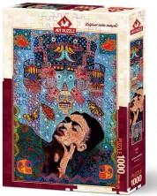 Пъзел Art Puzzle от 1000 части - Фрида, Алфредо Арегейн -1